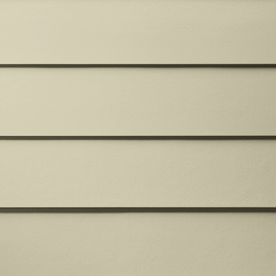 James Hardie HardiePlank Primed Navajo Beige Smooth Lap Fiber Cement Siding Panel (Actual: 0.312-in x 5.25-in x 144-in)