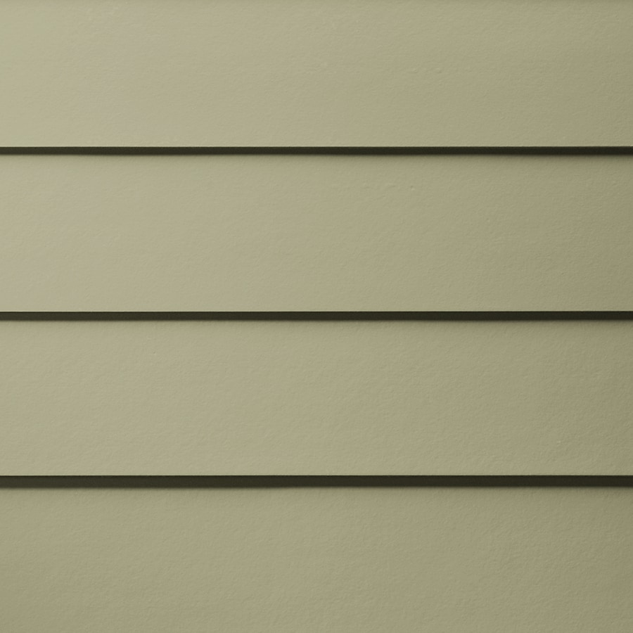 James Hardie (Actual: 0.312-in x 5.25-in x 144-in) HardiePlank Primed Heathered Moss Smooth Lap Fiber Cement Siding Panel