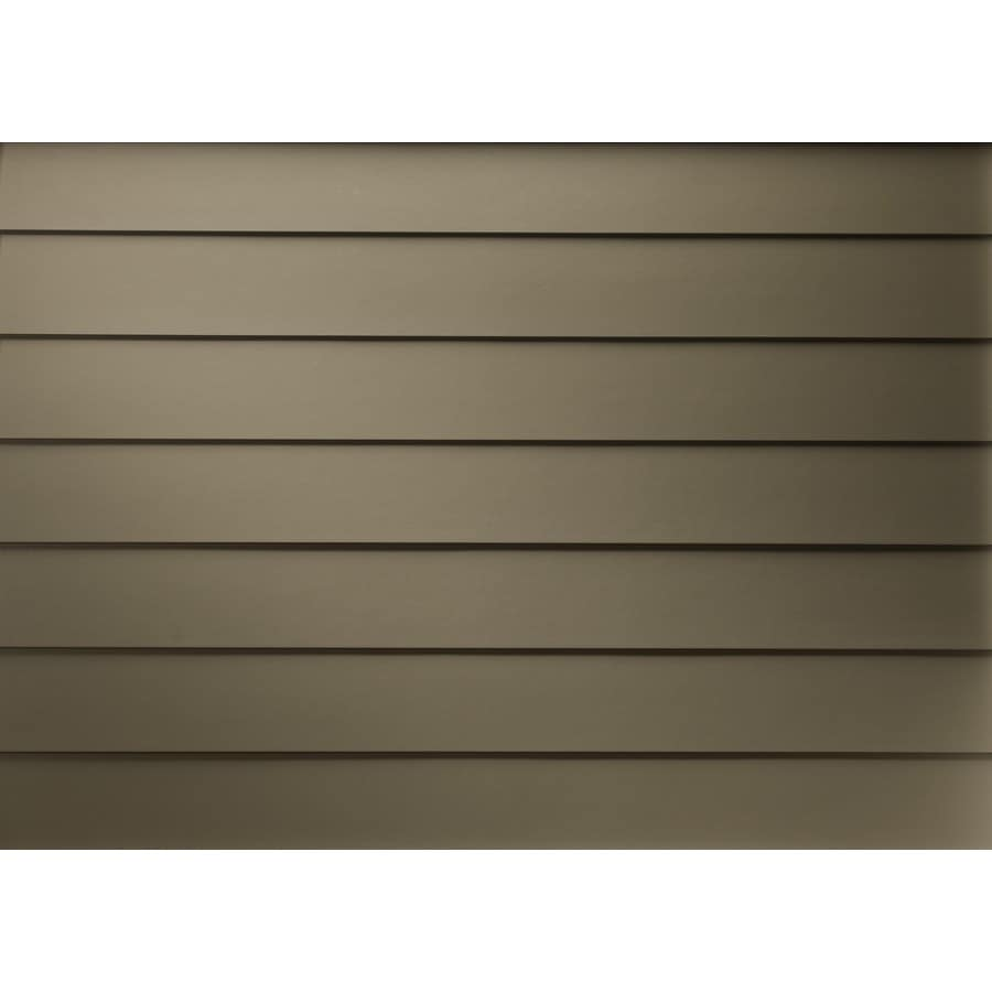 James Hardie (Actual: 0.312-in x 5.25-in x 144-in) HardiePlank Primed Iron Gray Smooth Lap Fiber Cement Siding Panel