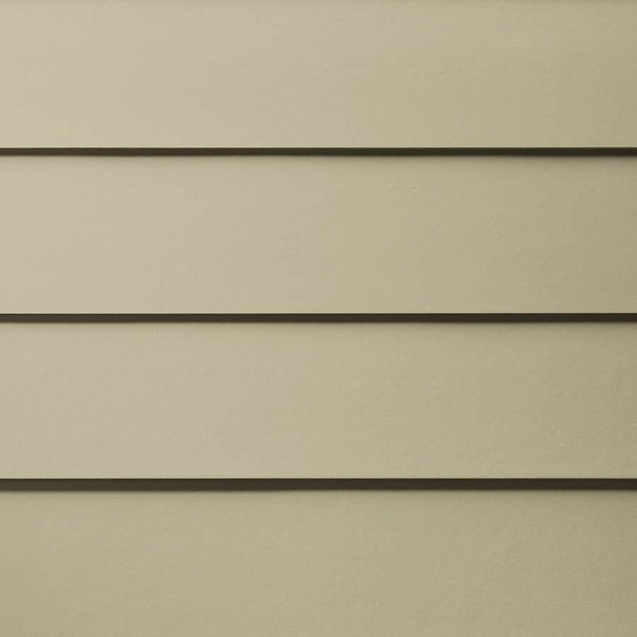 James Hardie HardiePlank Primed Sandstone Beige Smooth Lap Fiber Cement Siding Panel (Actual: 0.312-in x 8.25-in x 144-in)