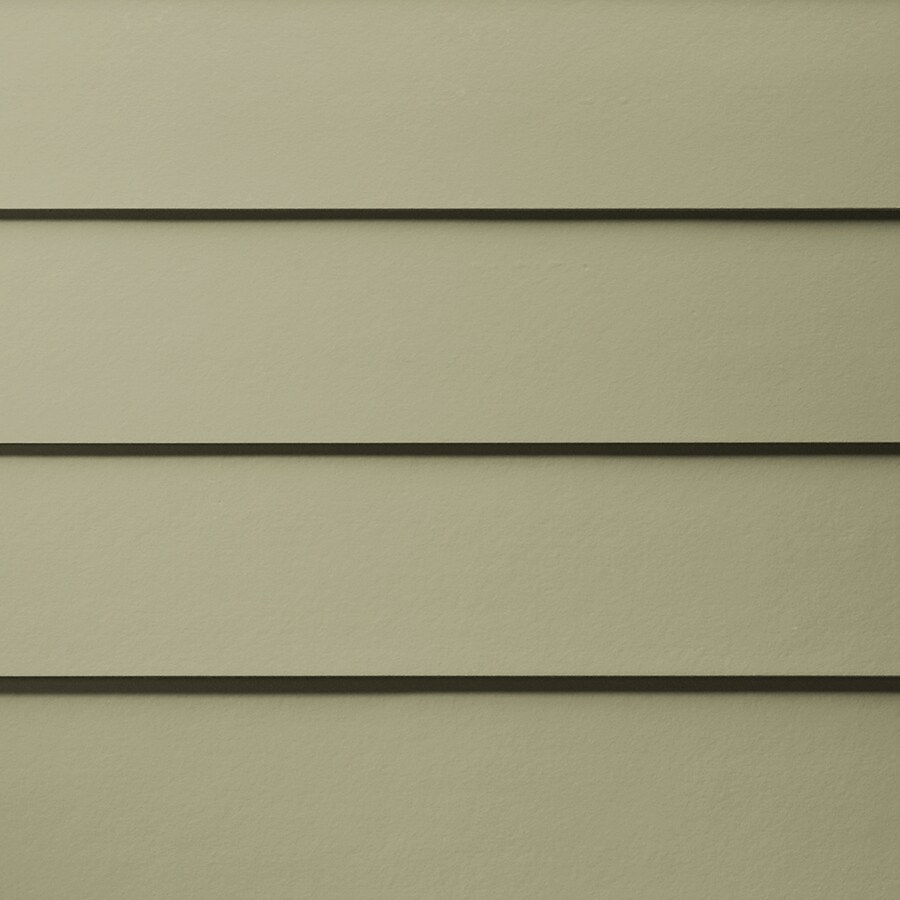 James Hardie HardiePlank Primed Heathered Moss Smooth Lap Fiber Cement Siding Panel (Actual: 0.312-in x 8.25-in x 144-in)