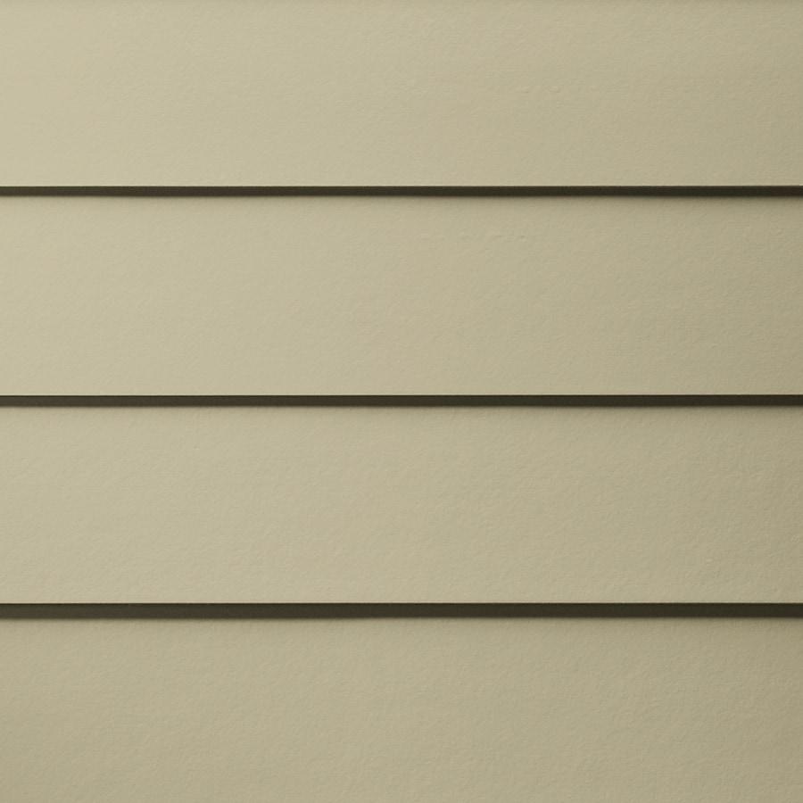 James Hardie HardiePlank Primed Sandstone Beige Smooth Lap Fiber Cement Siding Panel (Actual: 0.312-in x 7.25-in x 144-in)