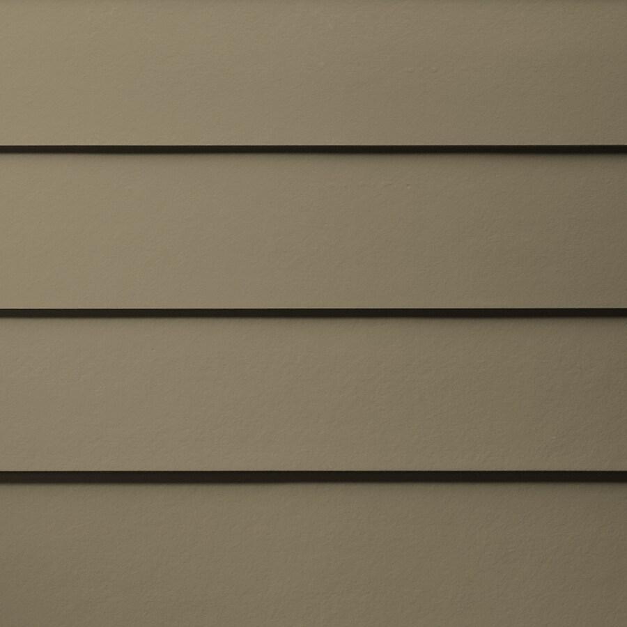 James Hardie HardiePlank Primed Woodstock Brown Smooth Lap Fiber Cement Siding Panel (Actual: 0.312-in x 7.25-in x 144-in)