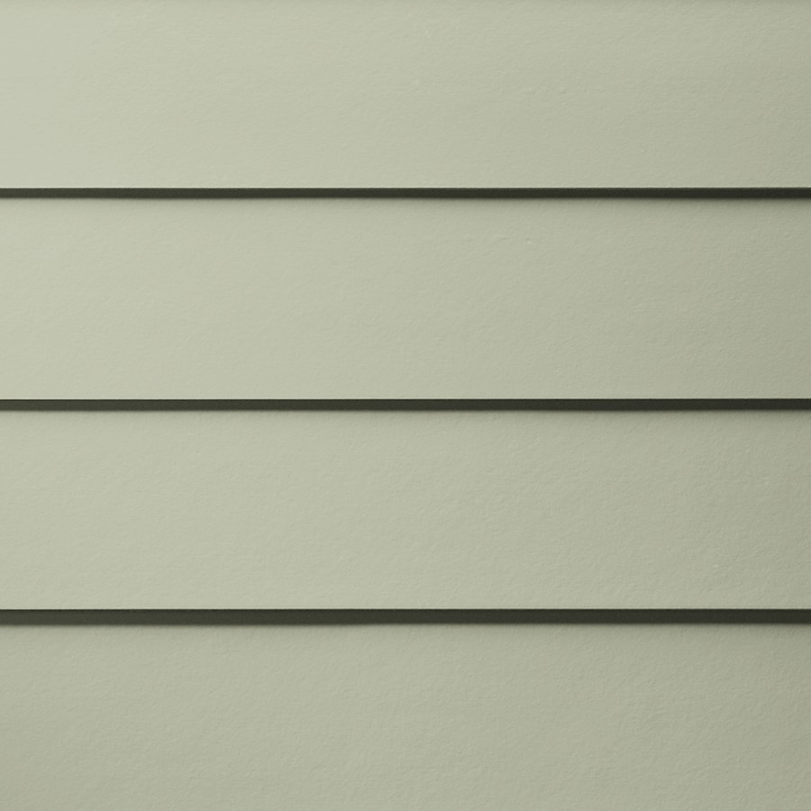 James Hardie HardiePlank Primed Soft Green Smooth Lap Fiber Cement Siding Panel (Actual: 0.312-in x 7.25-in x 144-in)