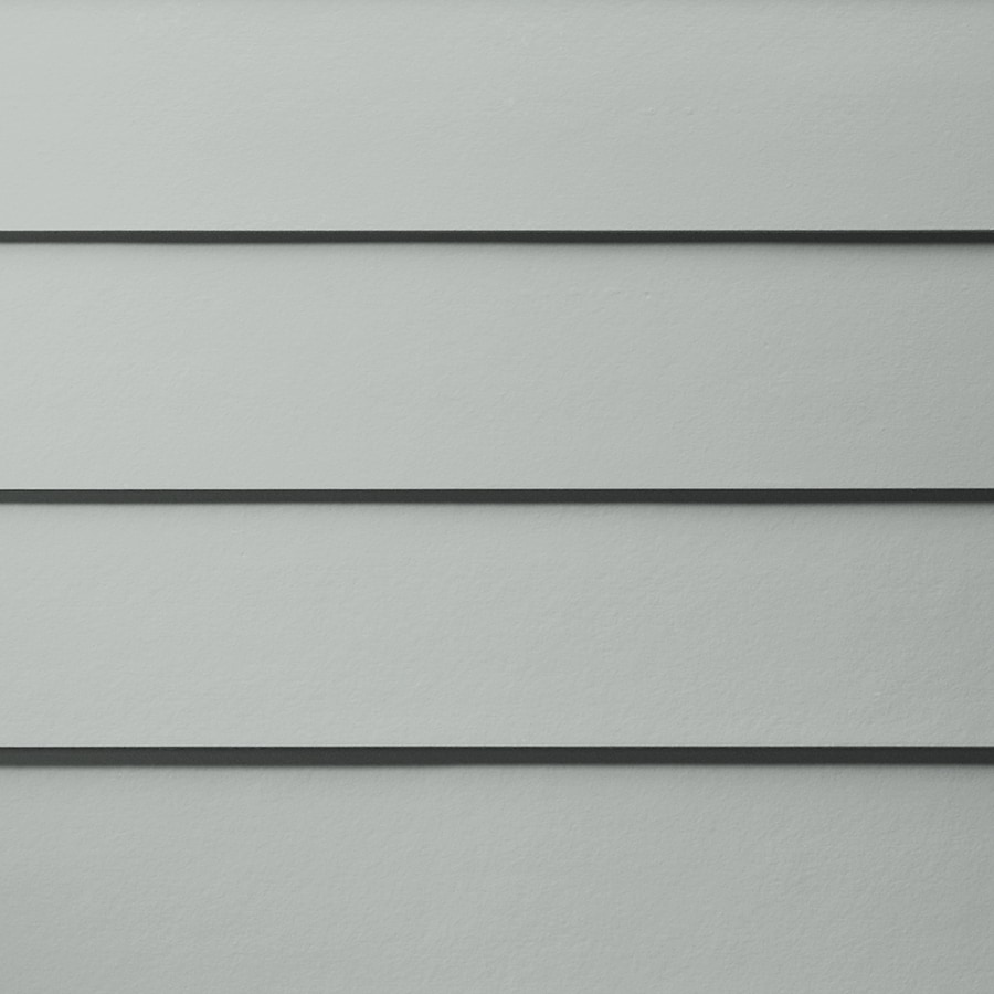 James Hardie HardiePlank Primed Light Mist Smooth Lap Fiber Cement Siding Panel (Actual: 0.312-in x 7.25-in x 144-in)