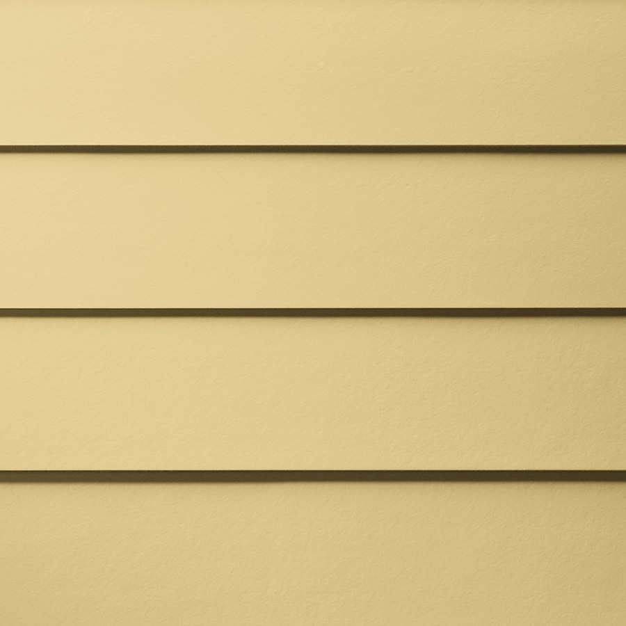 James Hardie HardiePlank Primed Harris Cream Smooth Lap Fiber Cement Siding Panel (Actual: 0.312-in x 7.25-in x 144-in)