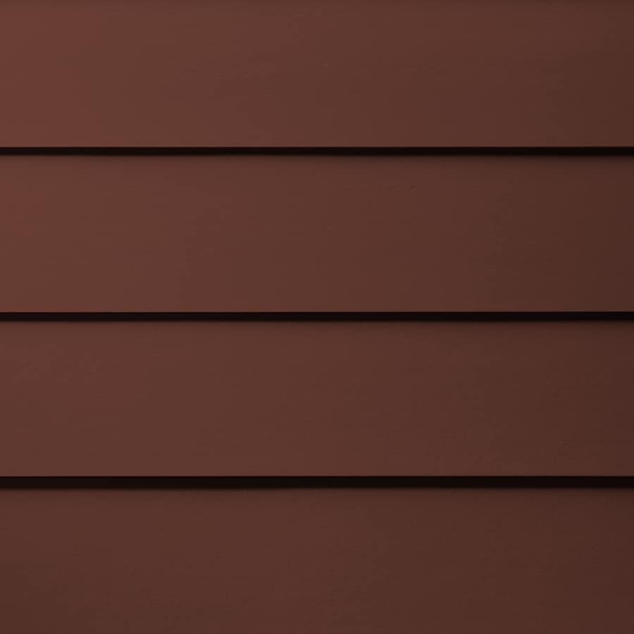 James Hardie HardiePlank Primed Countrylane Red Smooth Lap Fiber Cement Siding Panel (Actual: 0.312-in x 7.25-in x 144-in)