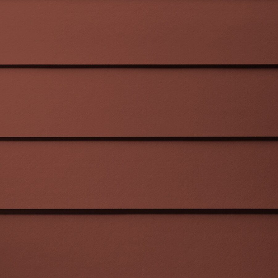 James Hardie HardiePlank Primed Traditional Red Smooth Lap Fiber Cement Siding Panel (Actual: 0.312-in x 7.25-in x 144-in)