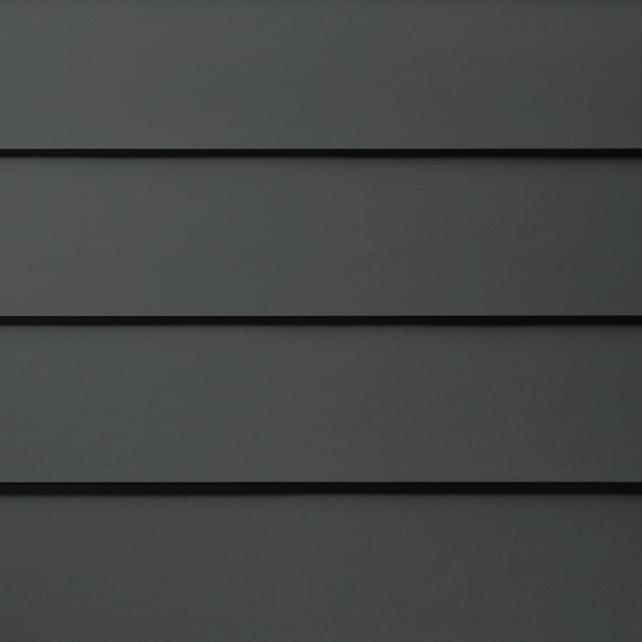 James Hardie (Actual: 0.312-in x 7.25-in x 144-in) HardiePlank Primed Iron Gray Smooth Lap Fiber Cement Siding Panel