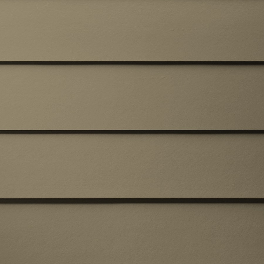 James Hardie (Actual: 0.312-in x 6.25-in x 144-in) HardiePlank Primed Woodstock Brown Smooth Lap Fiber Cement Siding Panel