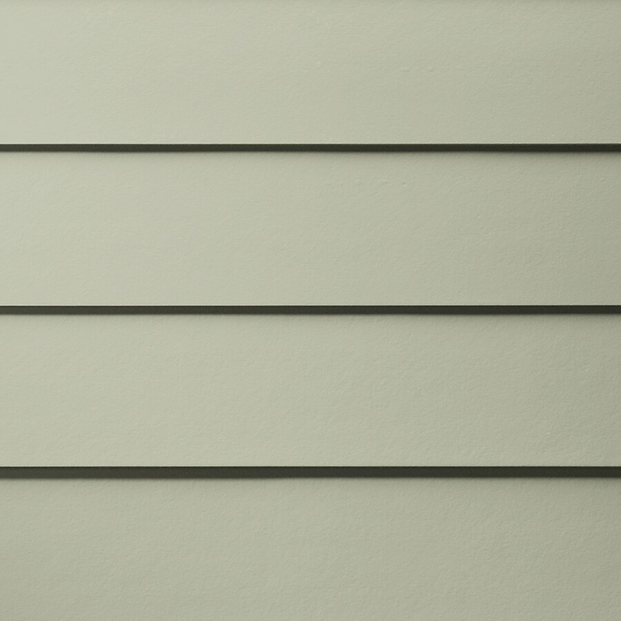 James Hardie HardiePlank Primed Soft Green Smooth Lap Fiber Cement Siding Panel (Actual: 0.312-in x 6.25-in x 144-in)