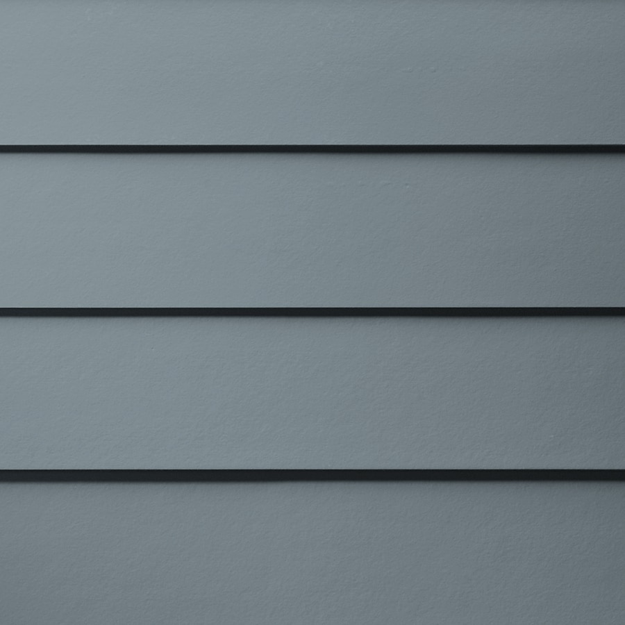 James Hardie HardiePlank Primed Boothbay Blue Smooth Lap Fiber Cement Siding Panel (Actual: 0.312-in x 6.25-in x 144-in)