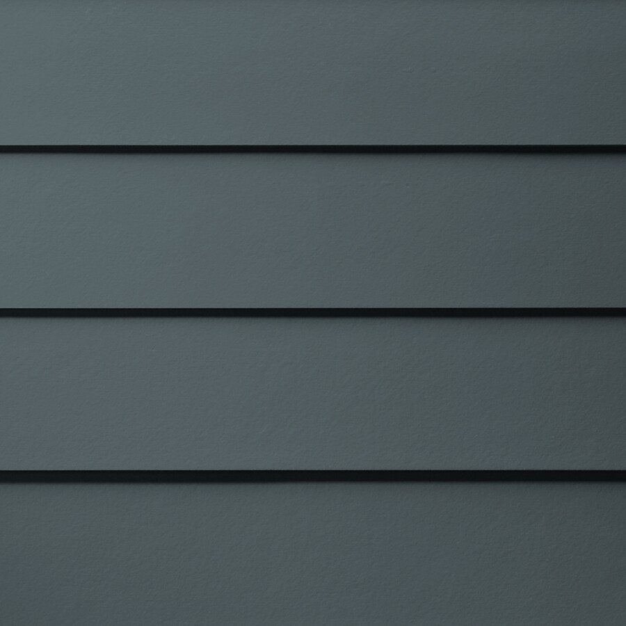 James Hardie HardiePlank Primed Evening Blue Smooth Lap Fiber Cement Siding Panel (Actual: 0.312-in x 6.25-in x 144-in)