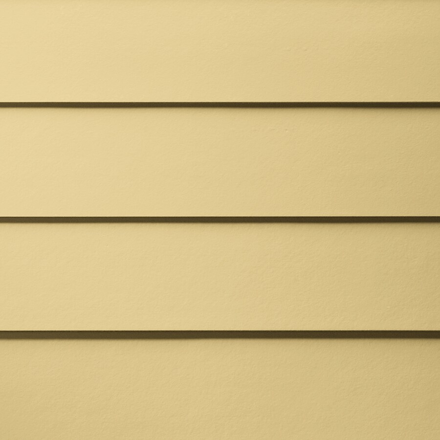 James Hardie HardiePlank Primed Harris Cream Smooth Lap Fiber Cement Siding Panel (Actual: 0.312-in x 6.25-in x 144-in)