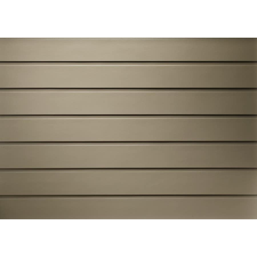 James Hardie (Actual: 0.312-in x 8-in x 144-in) HardiePlank Primed Parkside Pine Smooth Lap Fiber Cement Siding Panel