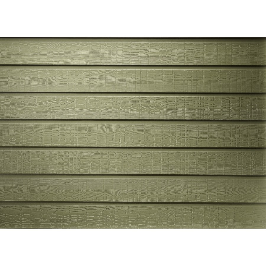 James Hardie Primed Harris Cream Fiber Cement Siding Panel (Actual: 0.312-in x 8-in x 144-in)