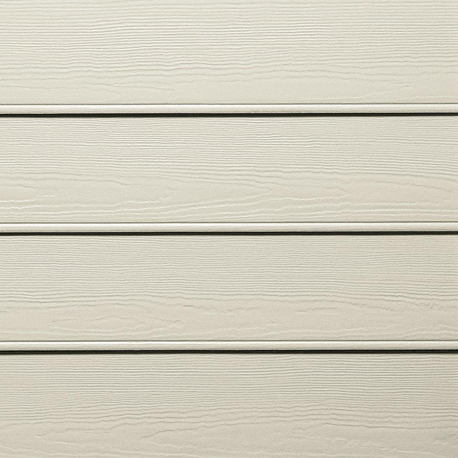 James Hardie HardiePlank Primed Cobble Stone Beaded Woodgrain Lap Fiber Cement Siding Panel (Actual: 0.312-in x 8.25-in x 144-in)