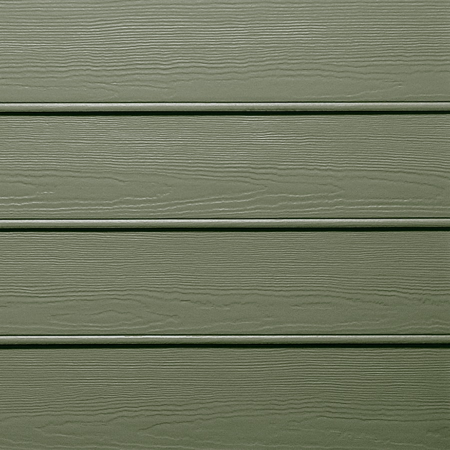 James Hardie HardiePlank Primed Mountain Sage Beaded Woodgrain Lap Fiber Cement Siding Panel (Actual: 0.312-in x 8.25-in x 144-in)