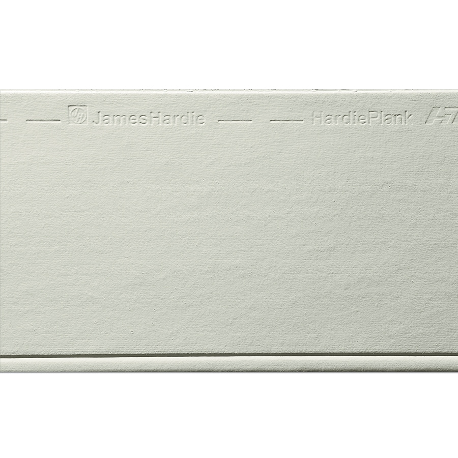 James Hardie HardiePlank Primed Soft Green Beaded Smooth Lap Fiber Cement Siding Panel (Actual: 0.312-in x 8.25-in x 144-in)