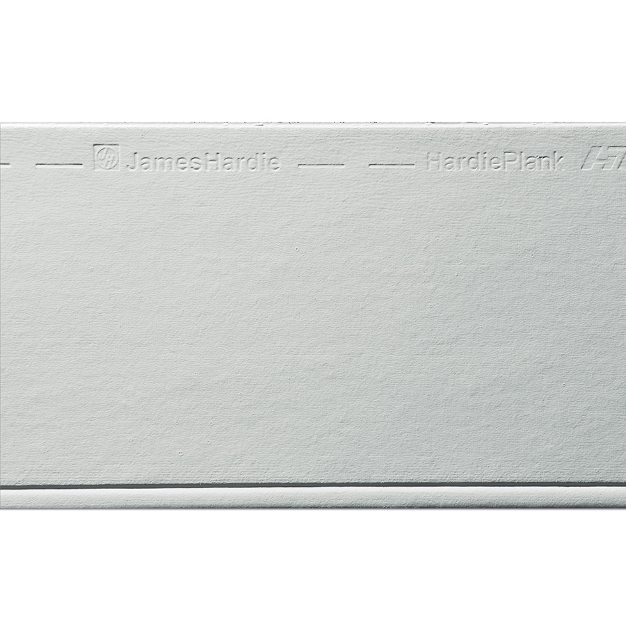 James Hardie HardiePlank Primed Light Mist Beaded Smooth Lap Fiber Cement Siding Panel (Actual: 0.312-in x 8.25-in x 144-in)