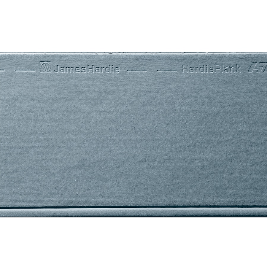 James Hardie HardiePlank Primed Boothbay Blue Beaded Smooth Lap Fiber Cement Siding Panel (Actual: 0.312-in x 8.25-in x 144-in)