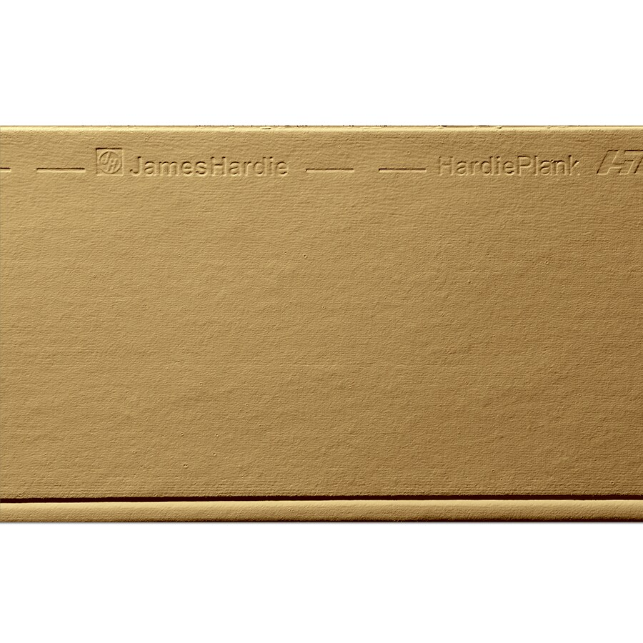 James Hardie HardiePlank Primed Tuscan Gold Beaded Smooth Lap Fiber Cement Siding Panel (Actual: 0.312-in x 8.25-in x 144-in)