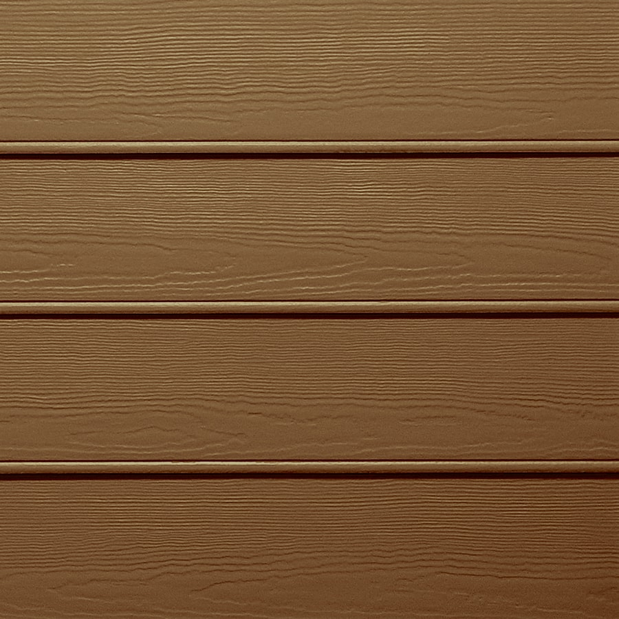 Shop james hardie actual x x 144 in for Wood grain siding panels