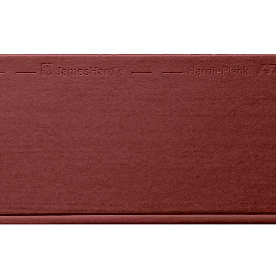James Hardie (Actual: 0.312-in x 8.25-in x 144-in) HardiePlank Primed Countrylane Red Beaded Smooth Lap Fiber Cement Siding Panel