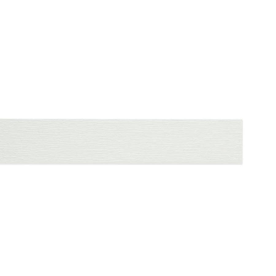 James Hardie HardieTrim 3.5-in x 144-in Primed Arctic White Woodgrain Fiber Cement Trim