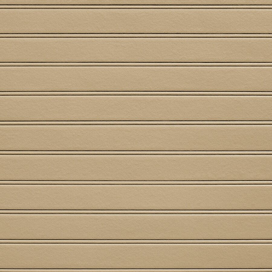 James Hardie 48-in x 96-in HardieSoffit Porch Panel Autumn Tan Fiber Cement Solid Soffit