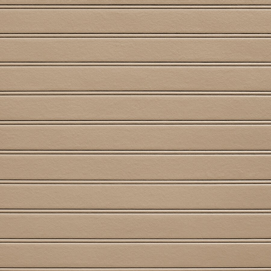 James Hardie HardieSoffit Porch Panel 48-in x 96-in Khaki Brown Fiber Cement Solid Soffit