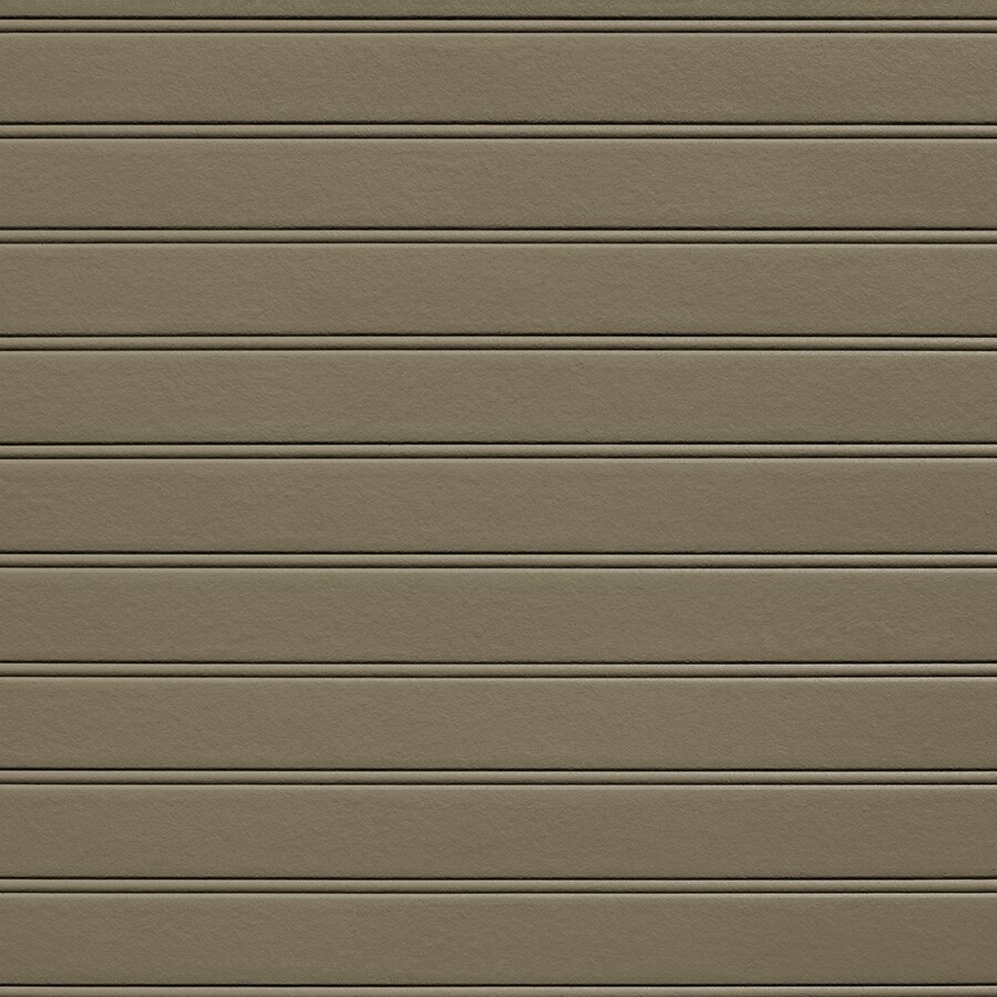 James Hardie 48-in x 96-in HardieSoffit Porch Panel Woodstock Brown Fiber Cement Solid Soffit