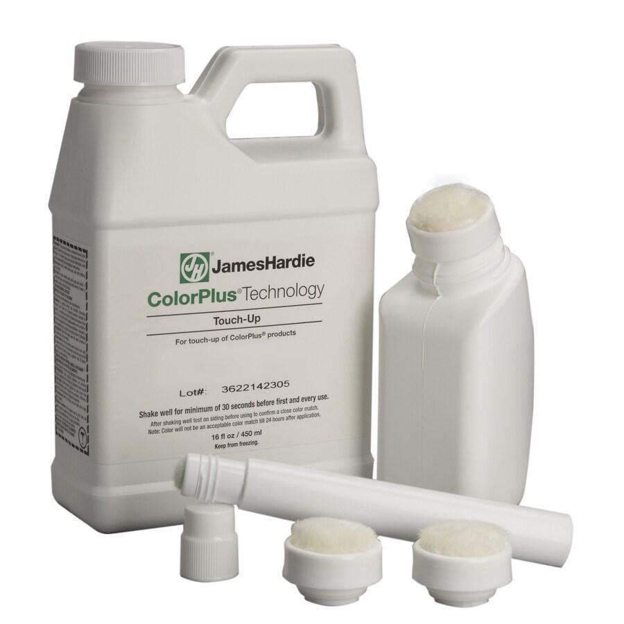 James Hardie Woodland Cream Satin Water-based Exterior Paint Kit (Actual Net Contents: 16-fl oz)