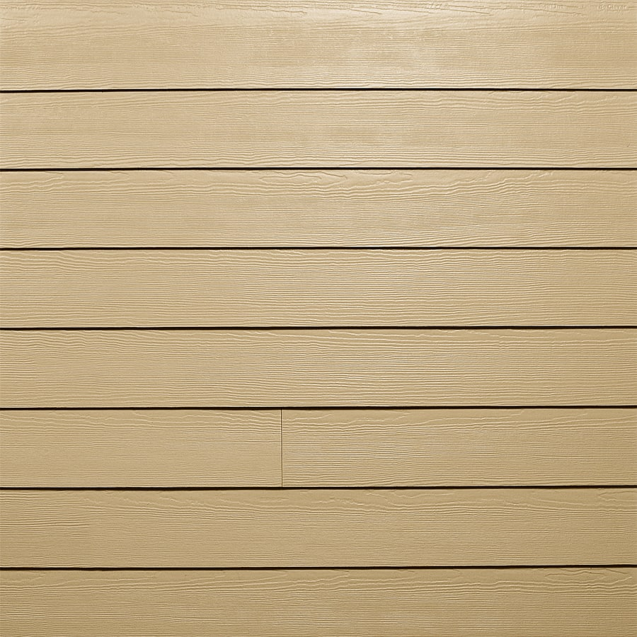 James Hardie HardiePlank Primed Primed Cedarmill Lap Fiber Cement Siding Panel (Actual: 0.312-in x 5.25-in x 144-in)