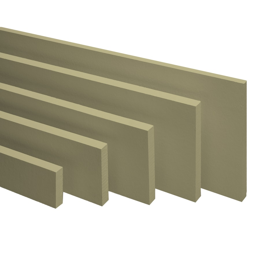 James Hardie 5.5-in x 144-in HardieTrim Primed Smooth Fiber Cement Trim