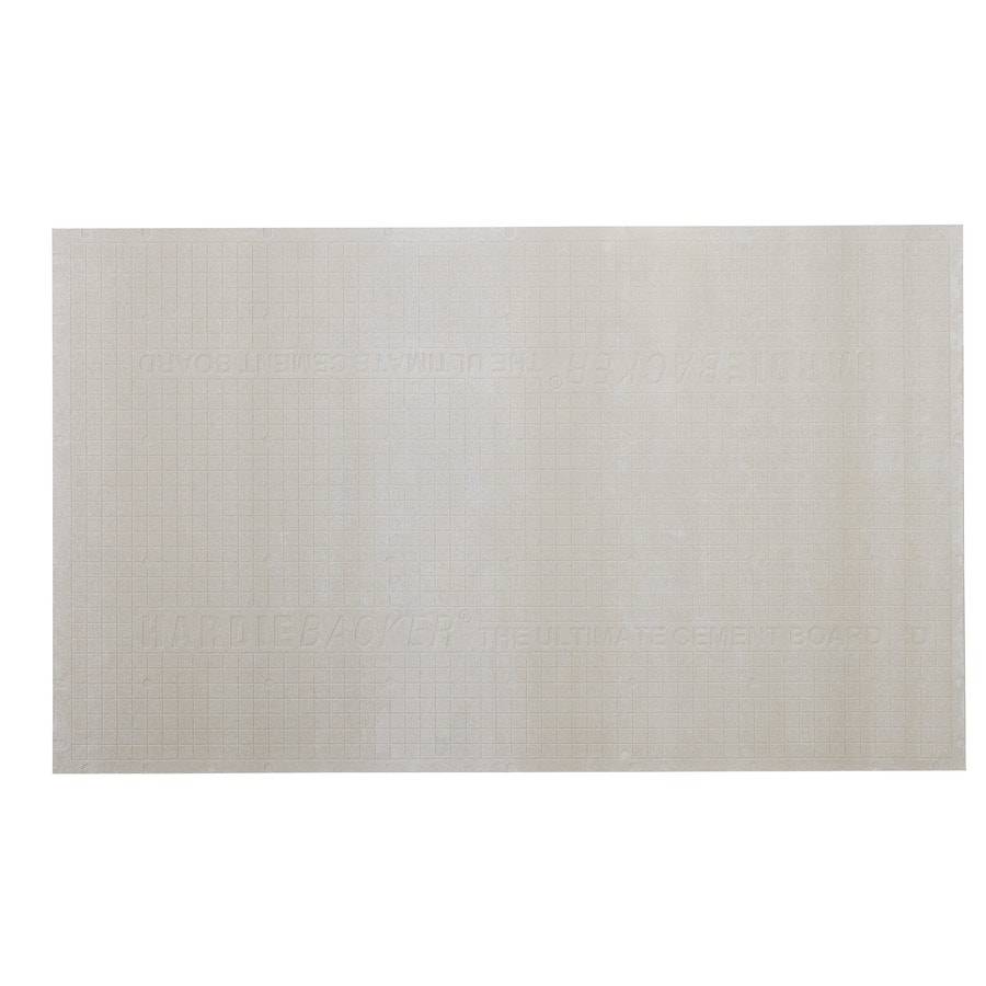 Shop James Hardie 0.25-in x 36-in x 60-in HardieBacker Fiber ...
