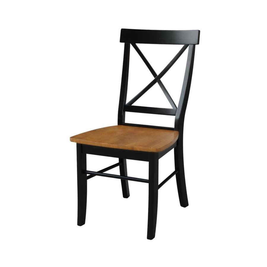International Concepts Set Of 2 Dining Essentials Side Chairs