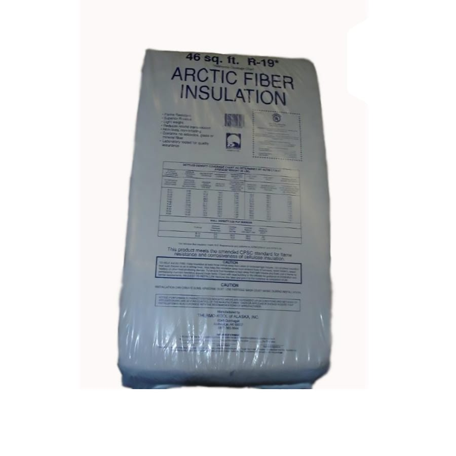 Arctic Fiber Insulation R19 46-sq ft Cellulose Blown-In Insulation with Sound Barrier