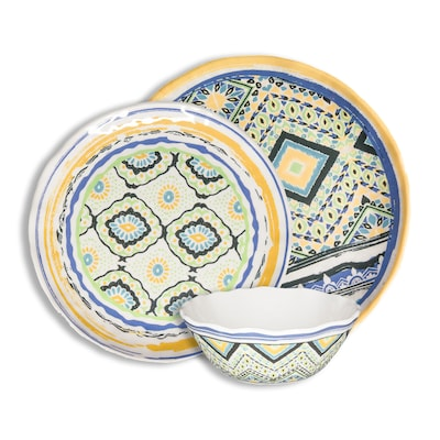 222 Fifth Multiple Colors Finishes Dinnerware At Lowes Com