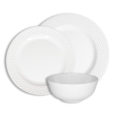 222 Fifth White Dinnerware At Lowes Com