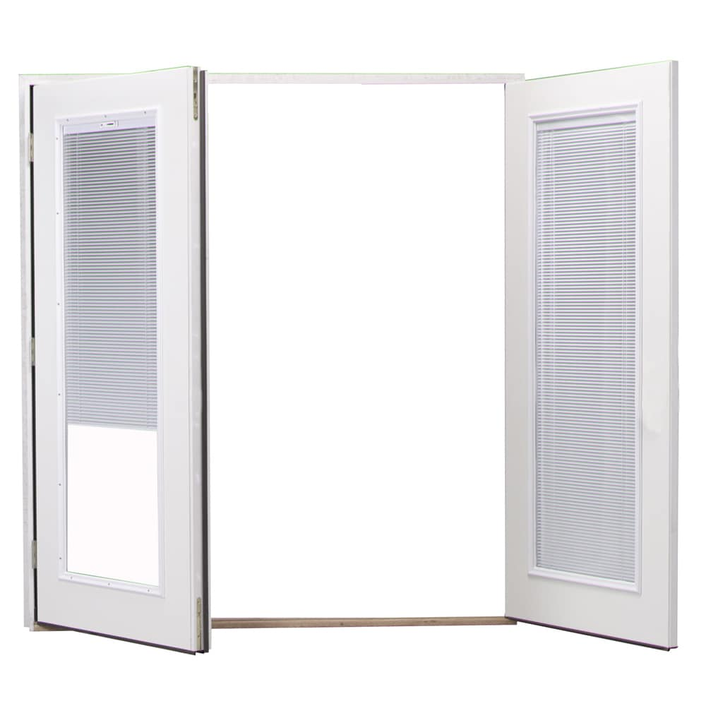 Shop reliabilt 6 reliabilt french patio door steel blinds reliabilt 6 reliabilt french patio door steel blinds between the glass tilt and raise eventelaan Images