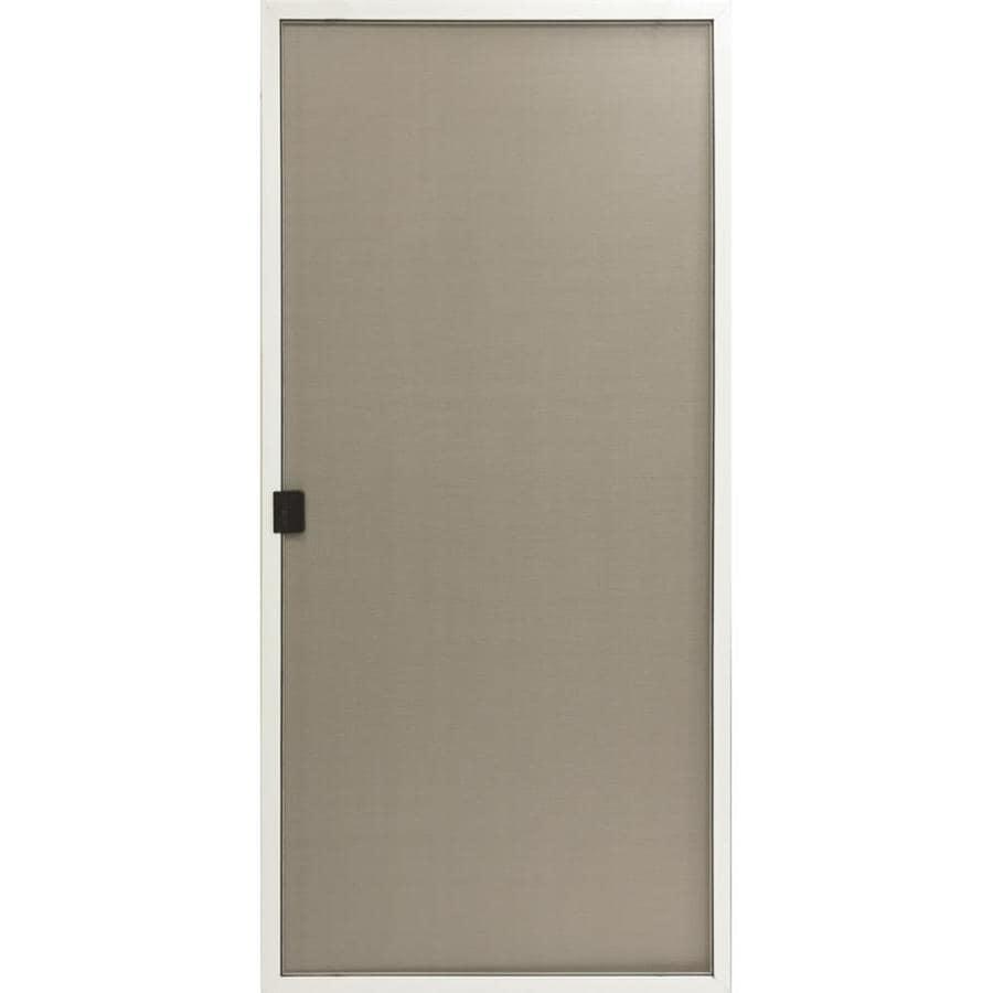 Reliabilt White Aluminum Sliding Screen Door Common 36