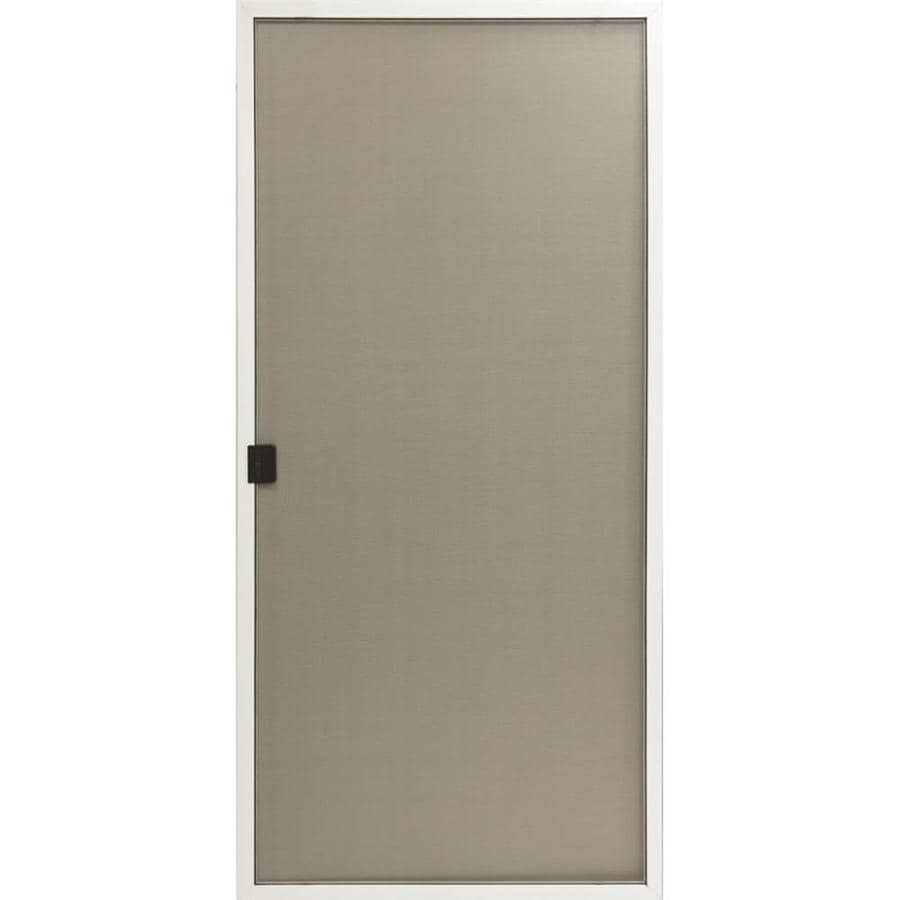 Shop reliabilt aluminum sliding screen door common 60 in for Aluminum screen doors
