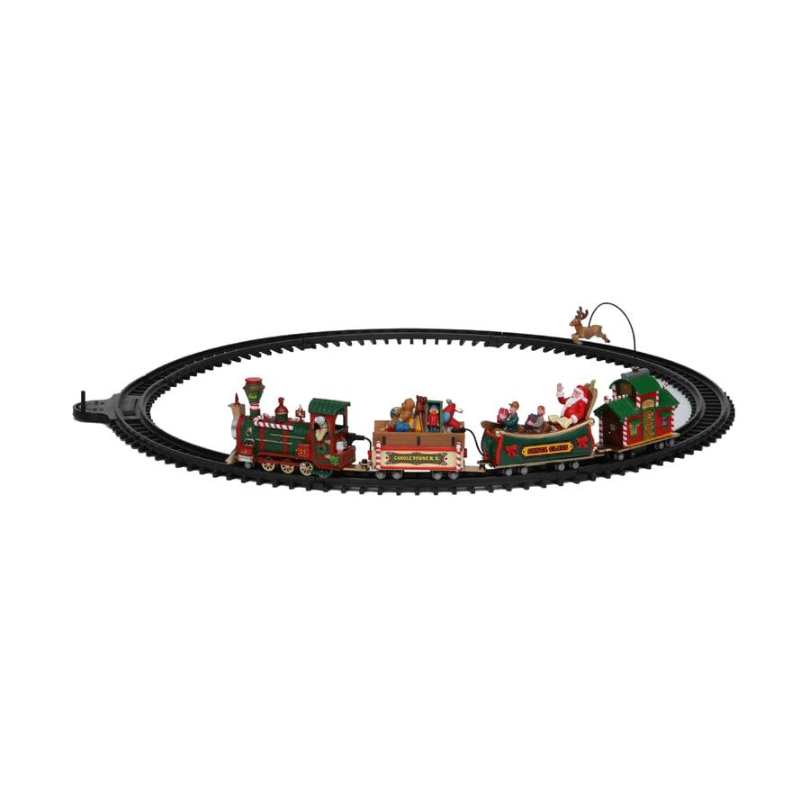 Carole Towne Christmas Plastic Lighted Musical Railroad Set