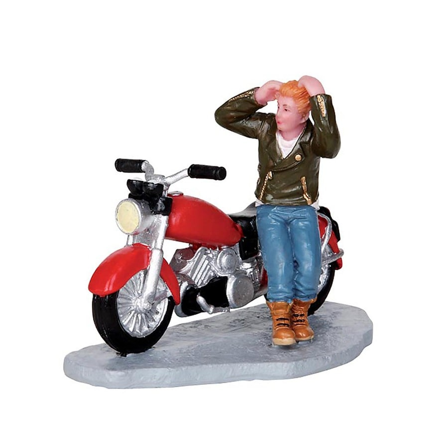 Carole Towne Resin Road Rebel Christmas Collectible