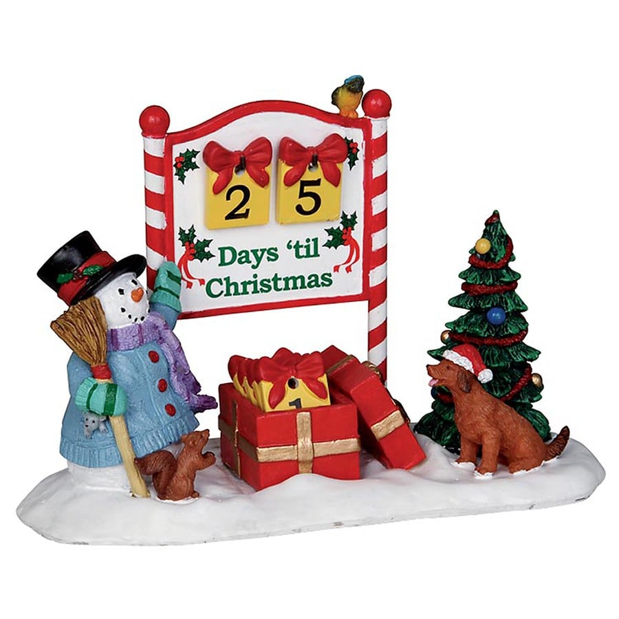 Carole Towne Resin Countdown to Christmas Collectible