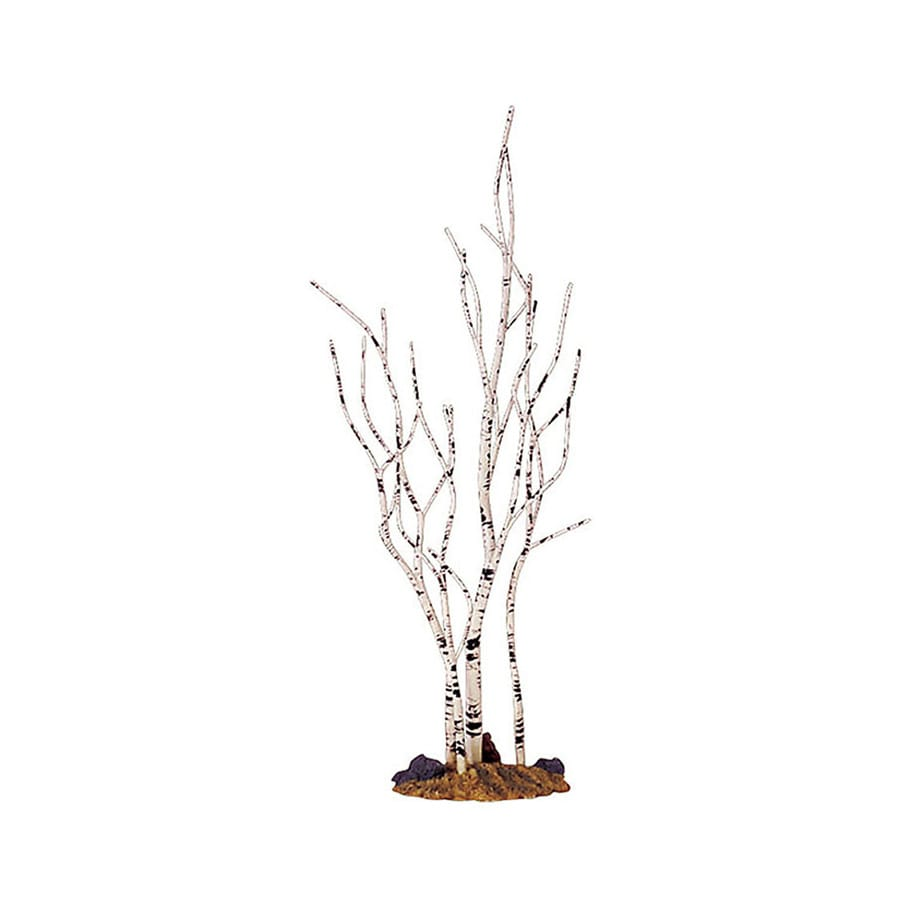 Carole Towne Resin Medium Birch Tree Christmas Collectible