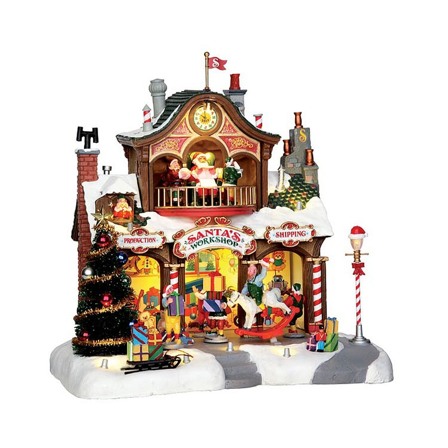 Shop Carole Towne 1-Piece Resin Lighted Musical Animatronic ...