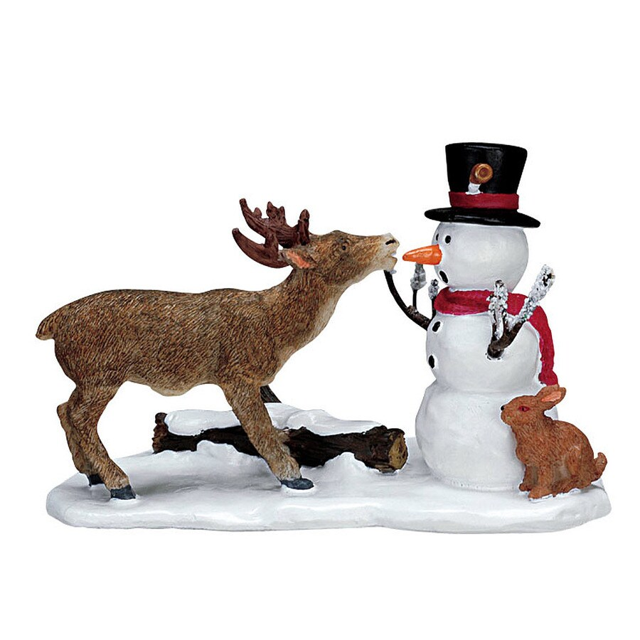 Carole Towne Resin Snack Time Christmas Collectible