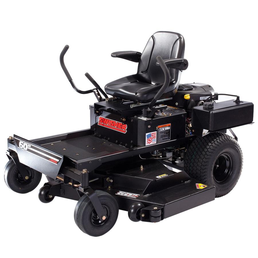 Swisher 27-HP V-Twin Dual Hydrostatic 60-in Zero-Turn Lawn Mower with Briggs & Stratton Engine